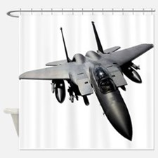 f15 eagle Shower Curtain