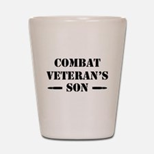 Combat Vet's Son Shot Glass