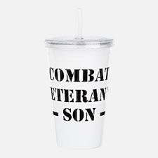 Combat Vet's Son Acrylic Double-wall Tumbler