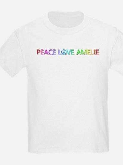 Peace Love Amelie T-Shirt