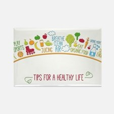 tips for healthy life Magnets