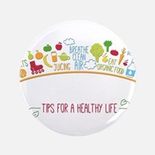 tips for healthy life Button