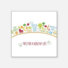tips for healthy life Sticker
