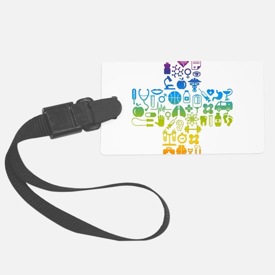 health cross Luggage Tag