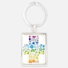 health cross Keychains