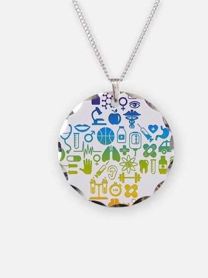 health cross Necklace