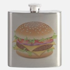 Cute Hamburger Flask