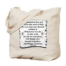 Woven Web Tote Bag