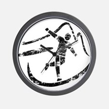 Disc Toss 2016 by TeeCreations Wall Clock