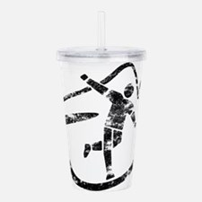 Disc Toss 2016 by TeeC Acrylic Double-wall Tumbler