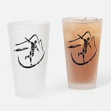 Disc Toss 2016 by TeeCreations Drinking Glass