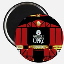 Grand Ole Opry in Nashville-BT-01 Magnets