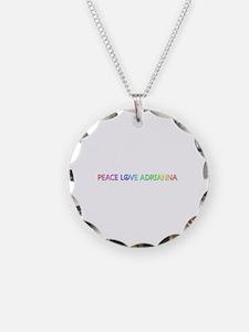 Peace Love Adrianna Necklace