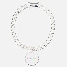 Peace Love Ashleigh Bracelet