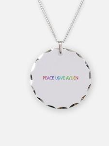 Peace Love Ayden Necklace