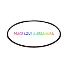 Peace Love Alessandra Patch
