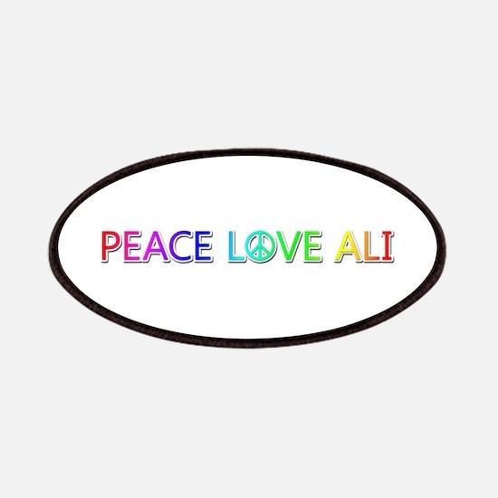Peace Love Ali Patch