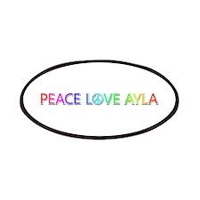 Peace Love Ayla Patch