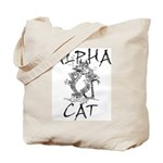 Alpha Cat Tote Bag