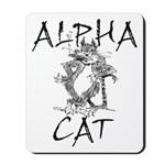 Alpha Cat Mousepad