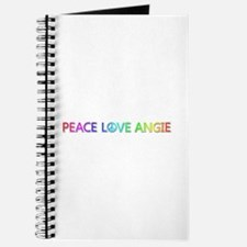 Peace Love Angie Journal