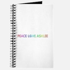 Peace Love Ashlee Journal