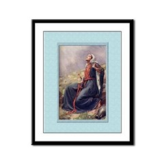 Annunciation-Copping-9x12 Framed Print
