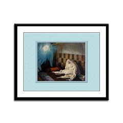 Annunciation-Tissot-12x9 Framed Print