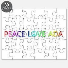 Peace Love Ada Puzzle