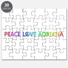Peace Love Adriana Puzzle