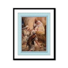 Shepherds Worship-Dixon-9x12 Framed Print