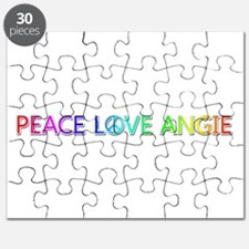 Peace Love Angie Puzzle