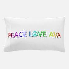 Peace Love Ava Pillow Case