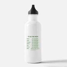 GO GOLFING Water Bottle