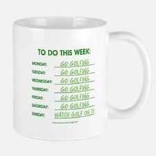 GO GOLFING Mugs