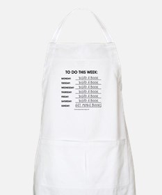 READ A BOOK Apron
