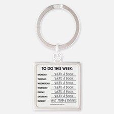 READ A BOOK Keychains