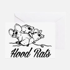 Cute Pack rat Greeting Card