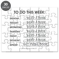 READ A BOOK Puzzle