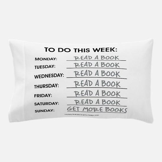 READ A BOOK Pillow Case