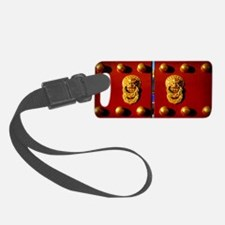Temple of Heaven Red China Luggage Tag