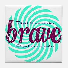 Brave Tile Coaster