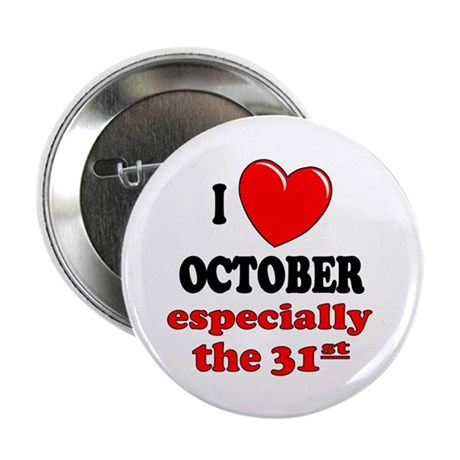 "October 31st 2.25"" Button (100 pack)"