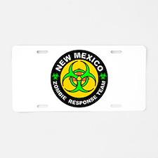 NM ZRT Green Aluminum License Plate