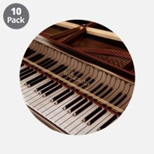 """Piano 3.5"""" Button (10 pack)"""