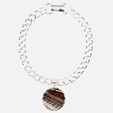 Piano Charm Bracelet, One Charm