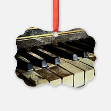 Vintage Piano Ornament