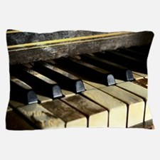 Vintage Piano Pillow Case