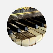 """Vintage Piano 3.5"""" Button (100 pack)"""
