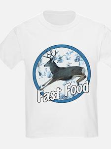 Fast Food Mule Deer T-Shirt